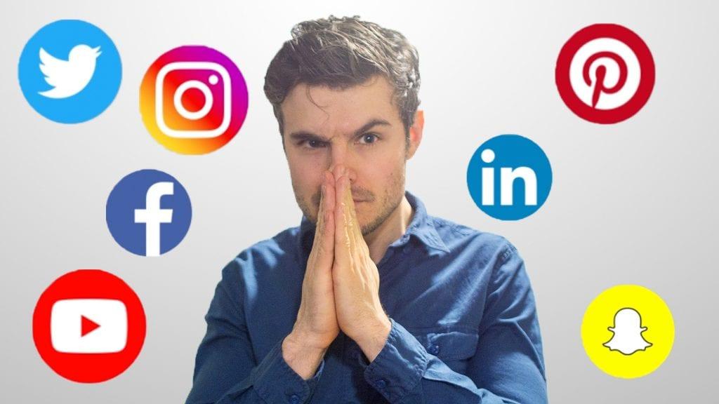 social media marketing logos