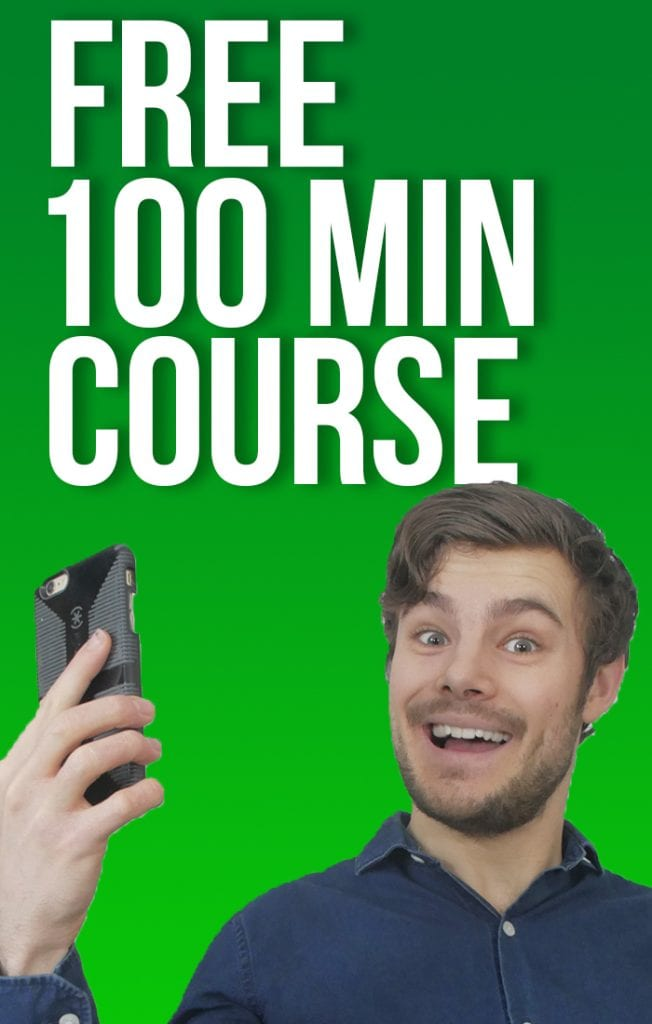 Free 100 min course how to make videos on your phone