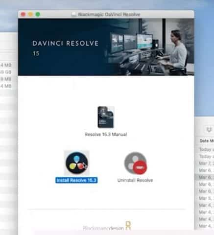 Install davinci resolve to edit videos from your phone