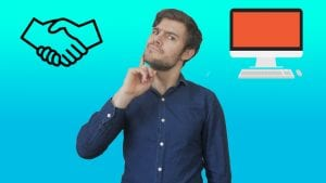 Should you network or meet people in person