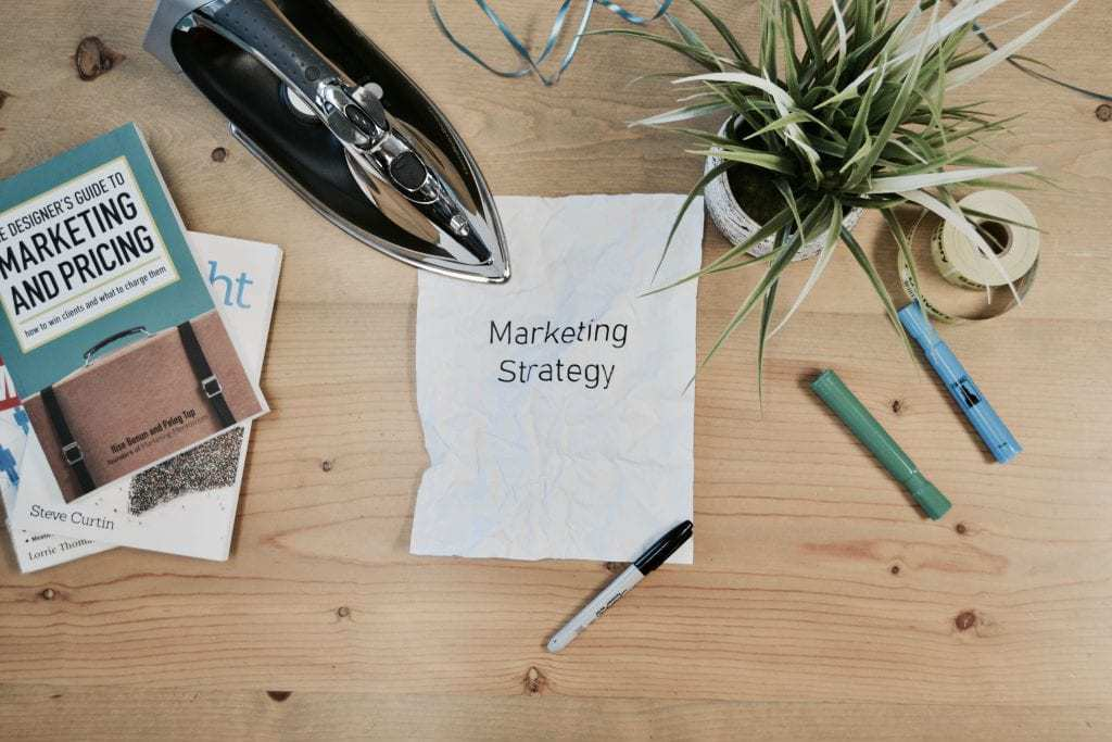 Marketing advice and strategy sign 2019