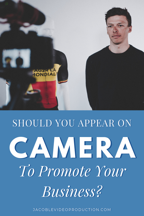 do i really need to appear on camera in my videos