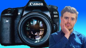 large camera, scared wondering do i need to appear