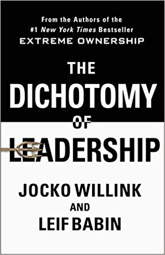 dichotomy of leadership is an ideal book for business supervisors