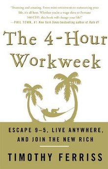 the four hour workweek book, productivity for small business and entrepreneurs
