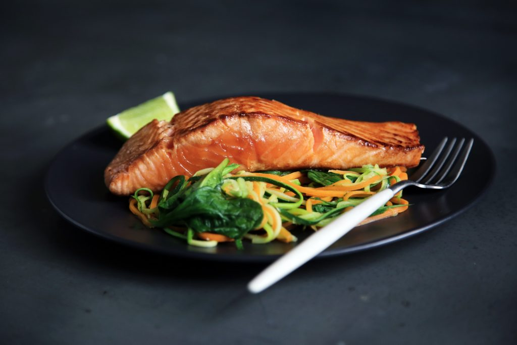 salmon on a plate business tips and advice for small and large businesses