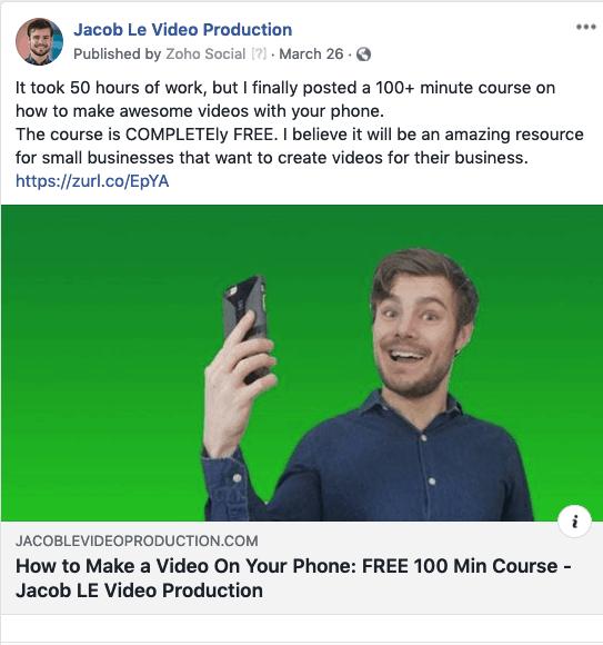 Link posts on facebook, instagram, and LinkedIn should be 1200x628
