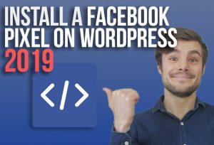 Pointing at Facebook Pixel WordPress