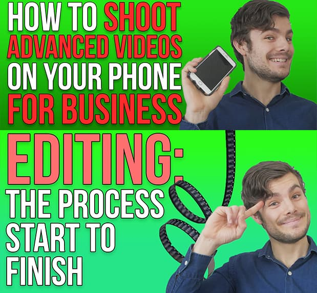 Shooting editing with phone course