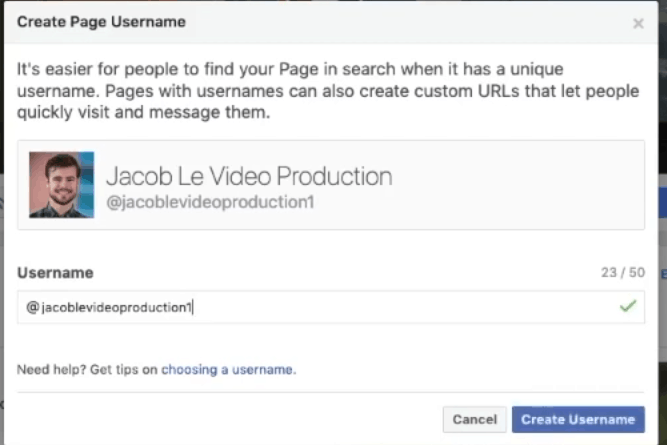 How to Customize Your Facebook Business Page Url (Vanity Url