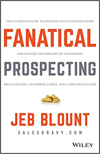 Fanatical prospecting sales book