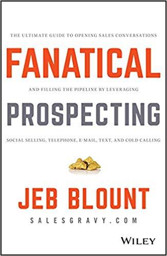 Fanatical prospecting sales book